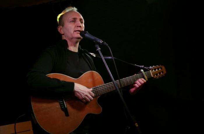 Francis Debieuvre sur scène 1